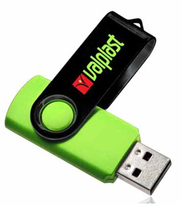 Swivel USB Flash Drives 512MB