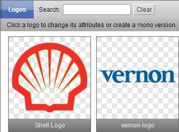 Selecting Logos