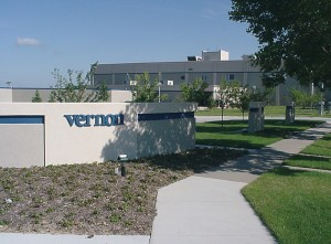 The Vernon Company's corporate headquarters in Newton, Iowa