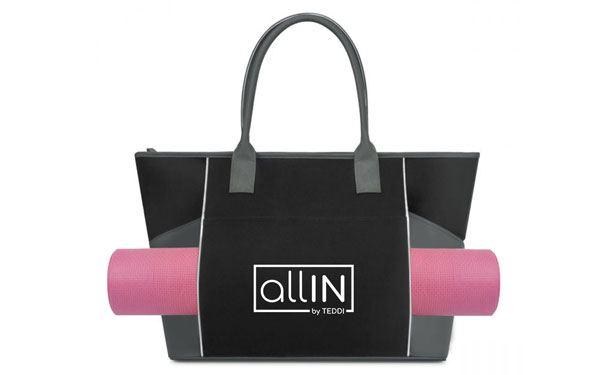 71cbccf0ceb The fitness tote features a large main compartment