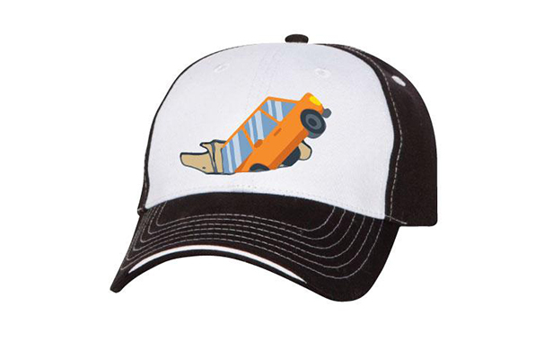 separation shoes 2dc16 998dd Virtual rendering of the limited edition Omaha Potholes hat.