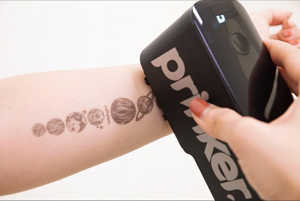 Prinker S temporary tattoo printer